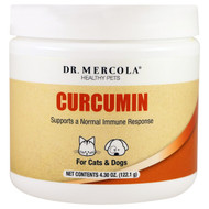 Dr. Mercola Curcumin for Cats & Dogs -- 4.31 oz