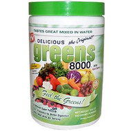 Greens World, Delicious Greens 8000, The Original, 10.6 oz (300 g) Powder