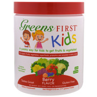 Greens First, Kids, Superfood Antioxidant Shake, Berry, 6.03 oz (171 g)