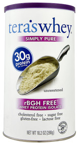 Teras Whey Simply Pure Whey Protein Isolate - 10.2 oz