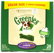 Greenies, Large Dog Treats 36 Oz Canister - 24 Treats