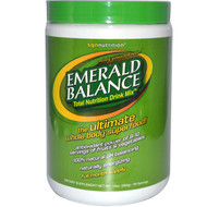 SGN Nutrition, Emerald Balance, Total Nutrition Drink Mix, Minty Green Tea Taste!, 10 oz (282 g)