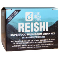 Four Sigmatic, Organic Reishi Mushroom Elixir Mix, 20 Packets, 0.1 oz (3 g) Each