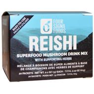 Four Sigmatic, Reishi, Mushroom Elixir Mix, 20 Packets, 0.1 oz (3 g) Each