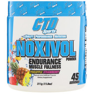 CTD Sports, Noxivol Powder, Pineapple Strawberry, 11.0 oz (311 g)