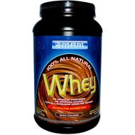 MRM, Natural Whey Protein, 2 Billion Probiotics, Dutch Chocolate, 32.3 oz (917 g)
