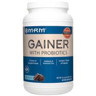 MRM, Nutrition, Gainer with1 Billion Probiotics, Chocolate, 3.3 lb (1,512 g)