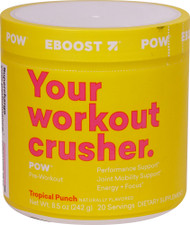 EBoost POW Pre-Workout SuperEnhancer Tropical Punch - 20 Servings