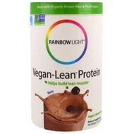 Rainbow Light, Vegan-Lean Protein, Berry, 13.2 oz (374 g)