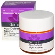 Derma E, Age-Defying Night Cream, 2 oz (56 g)