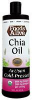 Foods Alive Organic Artisan Cold Pressed Oil  Chia - 16 fl oz
