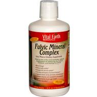 Vital Earth Minerals, Fulvic Mineral Complex, Ionic Mineral Dietary Supplement, 32 fl oz (946 ml)
