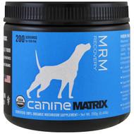 Canine Matrix, MRM Recovery, Mushroom Powder, 0.44 lb (200 g)