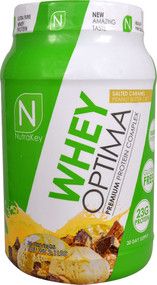 NutraKey Whey Optima Salted Caramel Peanut Butter Cup - 2.1 lbs