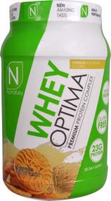 NutraKey Whey Optima Vanilla Ice Cream Cookie - 2.1 lbs