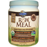 Garden of Life, RAW Meal, Organic Shake & Meal Replacement, Chocolate Cacao, 17.4 oz (493 g)