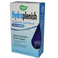 Natures Way, Hydraplenish, Hyaluronic Acid Serum, Ultra Potency, 1 fl oz (30 ml)