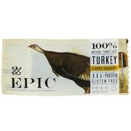 Epic Nutrition Turkey Bar Gluten Free Almond Cranberry -- 12 Bars
