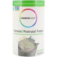 Rainbow Light, Prenatal & Postnatal Protein, Creamy Vanilla, 10.5 oz (297 g)