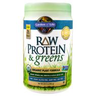 Garden of Life, Raw Protein & Greens, Organic Plant Formula, Lightly Sweet , 23.0 oz (651 g)