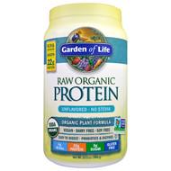 Garden of Life, RAW Organic Protein, Organic Plant Formula, Unflavored, 20 oz (568 g)