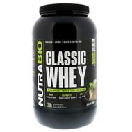 NutraBio Labs, Classic Whey Protein, Creamy Vanilla, 2 lbs (907 g)