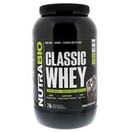 NutraBio Labs, Classic Whey Protein, Chocolate Milkshake, 2 lbs (907 g)