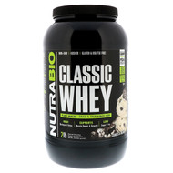 NutraBio Labs, Classic Whey Protein, Cookies & Cream, 2 lbs (907 g)