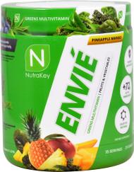 NutraKey Envie Greens Multivitamin Pineapple Mango -- 35 Servings