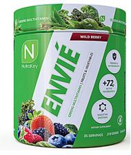 NutraKey Envie Greens Multivitamin Wild Berry -- 35 Servings