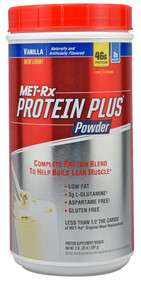 MET-Rx Metamyosyn Protein Plus Powder Vanilla -- 2 lbs