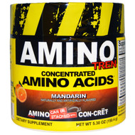 Con-Cret, Amino-Tren, Concentrated Amino Acids, Mandarin, 5.30 oz (150.4 g)