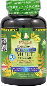 Emerald Laboratories, Coenzymated Mens 45+ 1-Daily Multi, 60 Vegetable Caps
