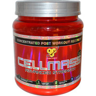 BSN, Cellmass 2.0, Concentrated Post Workout Recovery, Grape, 1.06 lbs (485 g)
