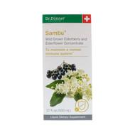 Dr. Dunner, USA, Sambu, Wild Grown Elderberry and Elderflower Concentrate, 17 fl oz (500 ml)