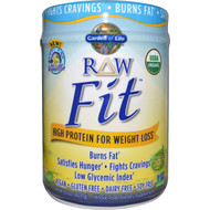 Garden of Life RAW Organic Fit High Protein for Weight Loss Vanilla - 16.1 oz