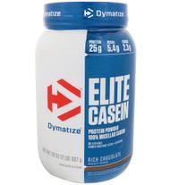 Dymatize Nutrition, Elite Casein, Rich Chocolate, 2 lbs (907 g)