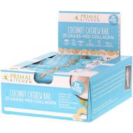 Primal Kitchen, Grass-Fed Collagen Bar, Grass-Fed Collagen, 12 Bars, 1.7 oz (49 g) Each
