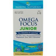 Nordic Naturals, Omega Focus Junior, 120 Mini Soft Gels