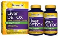 Renew Life Liver Detox 30 Day Program - 1 Kit