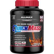 ALLMAX Nutrition, QuickMass, Rapid Mass Gain Catalyst, Chocolate Peanut Butter, 6 lbs (2.72