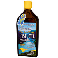 Carlson The Very Finest Fish Oil Lemon - 16.9 fl oz