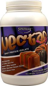 Syntrax, Nectar Sweets Whey Protein Isolate Powder,  Chocolate Truffle - 32 oz