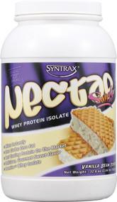 Syntrax, Nectar Whey Protein Isolate Powder,  Vanilla Bean Torte - 2.04 lbs