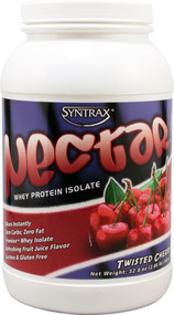 Syntrax, Nectar Whey Protein Isolate Powder,  Twisted Cherry - 2 lbs