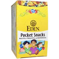 Eden Foods, Pocket Snacks, Pistachios, 12 Packages, 1 oz (28.3 g) Each