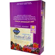 Garden of Life, Organic, Fruits of Life, Whole Food Antioxidant Matrix Bar, Summer Berry, 12  Bars, 2.25 oz (64 g) Each