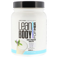Jamie Eason, Lean Body for Her, Whey Protein Isolate, Vanilla, 1.49 lbs (680 g)