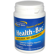 North American Herb & Spice Health-Bac Probiotic - 100 g