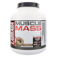 Labrada Nutrition, Muscle Mass Gainer, Chocolate, 6 lbs (2722 g)